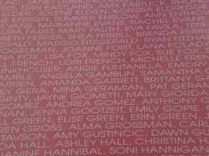 Can you find my name?